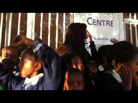 Children Singing at the Love and Hope Centre in Addis Ababa, Ethiopia