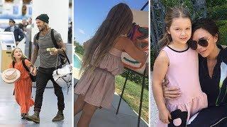 David Beckham & Victoria Beckham's Daughter   2018 {Harper Beckham}