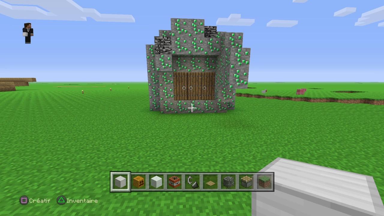 Minecraft 3 piege a kikoo comment faire un golem de fer - Minecraft golem de fer ...