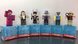Unboxing Series 3 Roblox Blind Box Toys and Giving Out the Codes