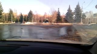 Урок вождения в городе. Занятие №3 Часть 2