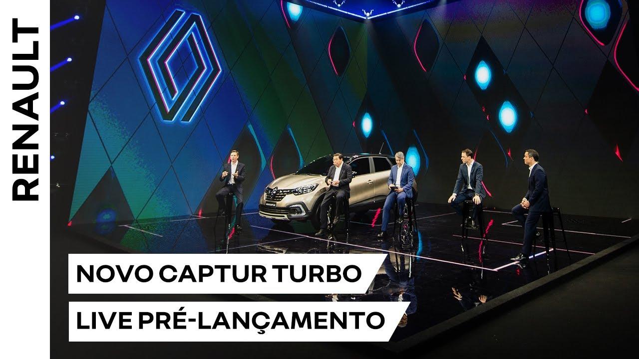 Renault | Novo CAPTUR TURBO |  Live Pré-Lançamento