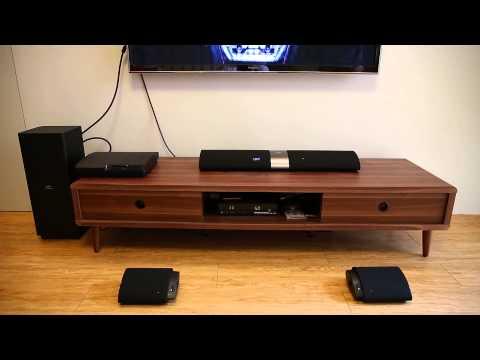 【Mobile01】Philips Fidelio B5 Soundbar Speaker 藍光電影 2.1 聲道轉 4.1  聲道