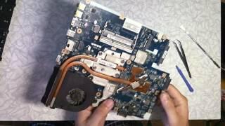 Acer 5552G ремонт: переход с МП LA-5911P на  LA-5912P с заменой матрицы.