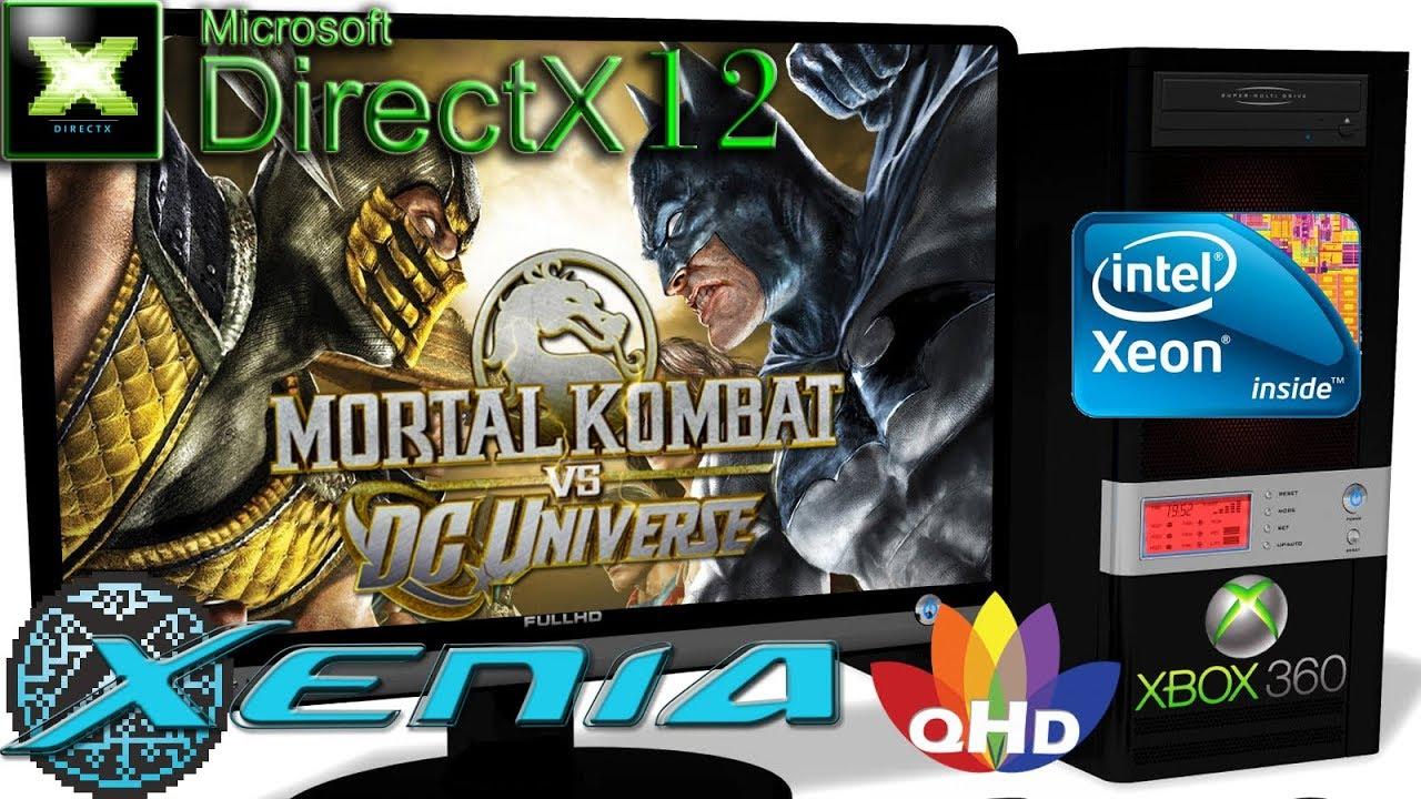 XENIA Xbox 360 Emulator - Mortal Kombat vs  DC Universe (Ingame 60FPS)  Vulkan #9 by Emulators for PC