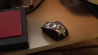 Como conectar un raton inalambrico logitech diferente al reemplazo del original.