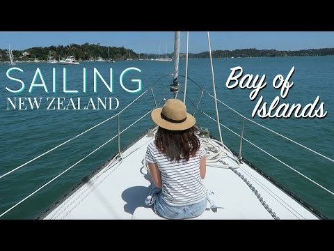 SAILING IN THE BAY OF ISLANDS // Russell, NZ