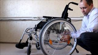 видео Кресло-коляска Ortonica Trend 10 R