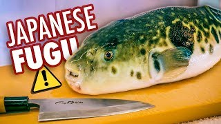 Eating Japan's Deadliest Dish | Poisonous Blowfish (Fugu)