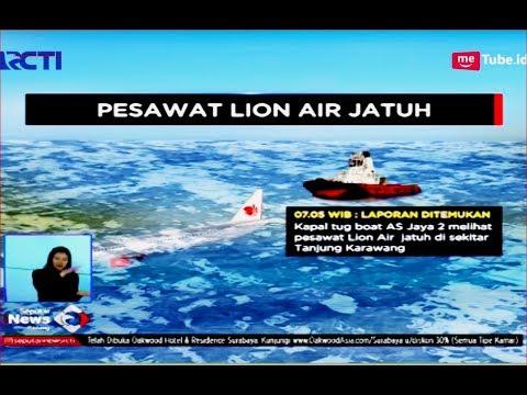 Ditemukan Kapal Pertamina, Ini Kronologi Jatuhnya Lion Air JT 610 di Tanjung Karawang - SIS 29/10