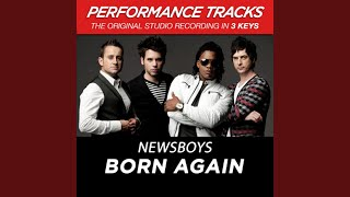 Born Again (Medium Key Performance Track With Background Vocals)