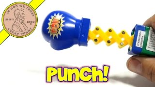 Sucker Punch Raspberry Jab Candy Lollipop, Kidsmania