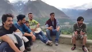 Gham Tu Saath Khushi Tu Saath-Shina Song By Azeem Hunzai