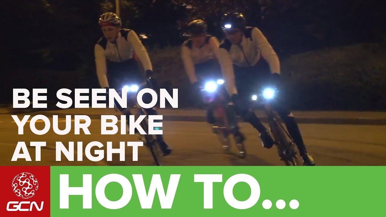 How To Use Bike Lights Gcns Guide Lighting Youtube Advanced Bicycle Lightings
