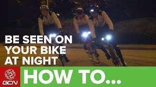 How To Use Bike Lights - GCN's Guide To Lighting