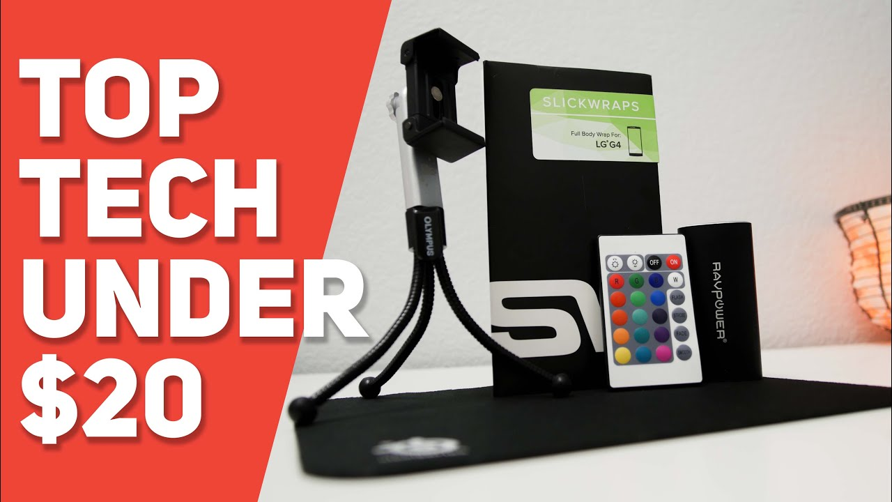Top tech under 20 holiday tech gifts youtube for Best new tech gifts