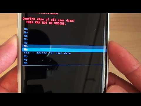 Samsung Galaxy S6 Edge: How to Perform a Hard Reset With Hardware Key