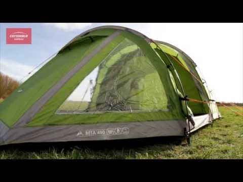Vango Beta 450 tent | Cotswold Outdoor product video & Vango Beta 450 tent | Cotswold Outdoor product video - YouTube