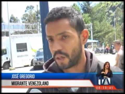 Al menos dos mil venezolanos ingresan a diario a Ecuador