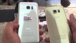 SAMSUNG Galaxy S7 Edge Duos Titanium Silver unboxing and review Urdu
