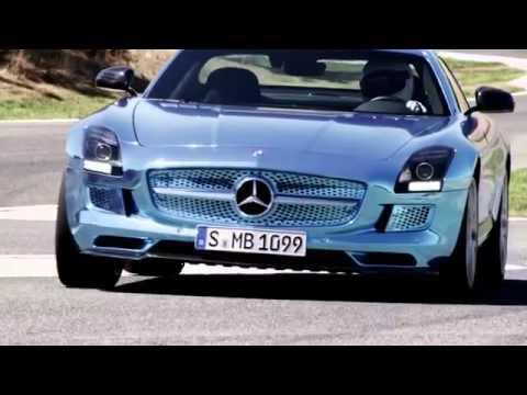 Mercedes-Benz SLS AMG Coupé Electric Drive 750 hp Supercar