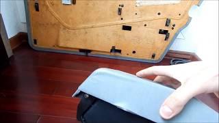ремонт гачків  кріплень на дверних картах мерседес 124 і схожі моделі.