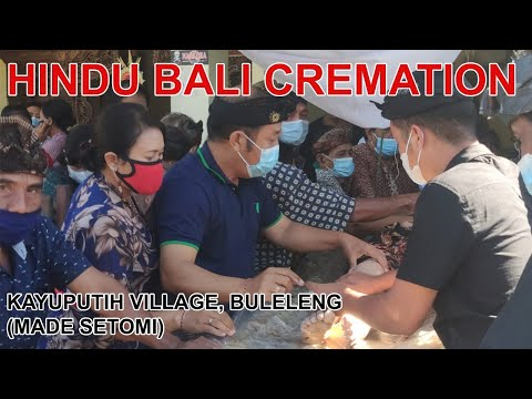 PEMBAKARAN MAYAT MENINGGAL DI BALI (MADE SETOMI CREMATION IN BALI)