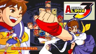 스트리트 파이터 제로 3 사쿠라 엔딩 Street Fighter Alpha 3 SAKURA ...