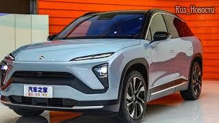 Авто обзор - Nio :Китайские электромобили выйдут на рынок Европы ES6, EC6, ES8, Nio...