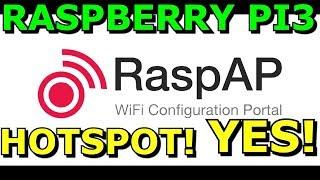 Schalten Sie Ihren Raspberry PI 3 B+ In EIN WLAN-Access Point, Hot Spot RaspAp Mit 32GB USB3-Stick