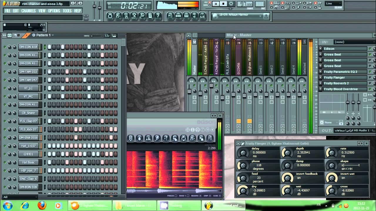 boite a rythme rai fl studio