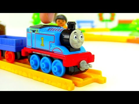Thomas Train. Thomas & Friends And Collectible Railway. Toy Train Unboxing Videos. Паровозик Томас.