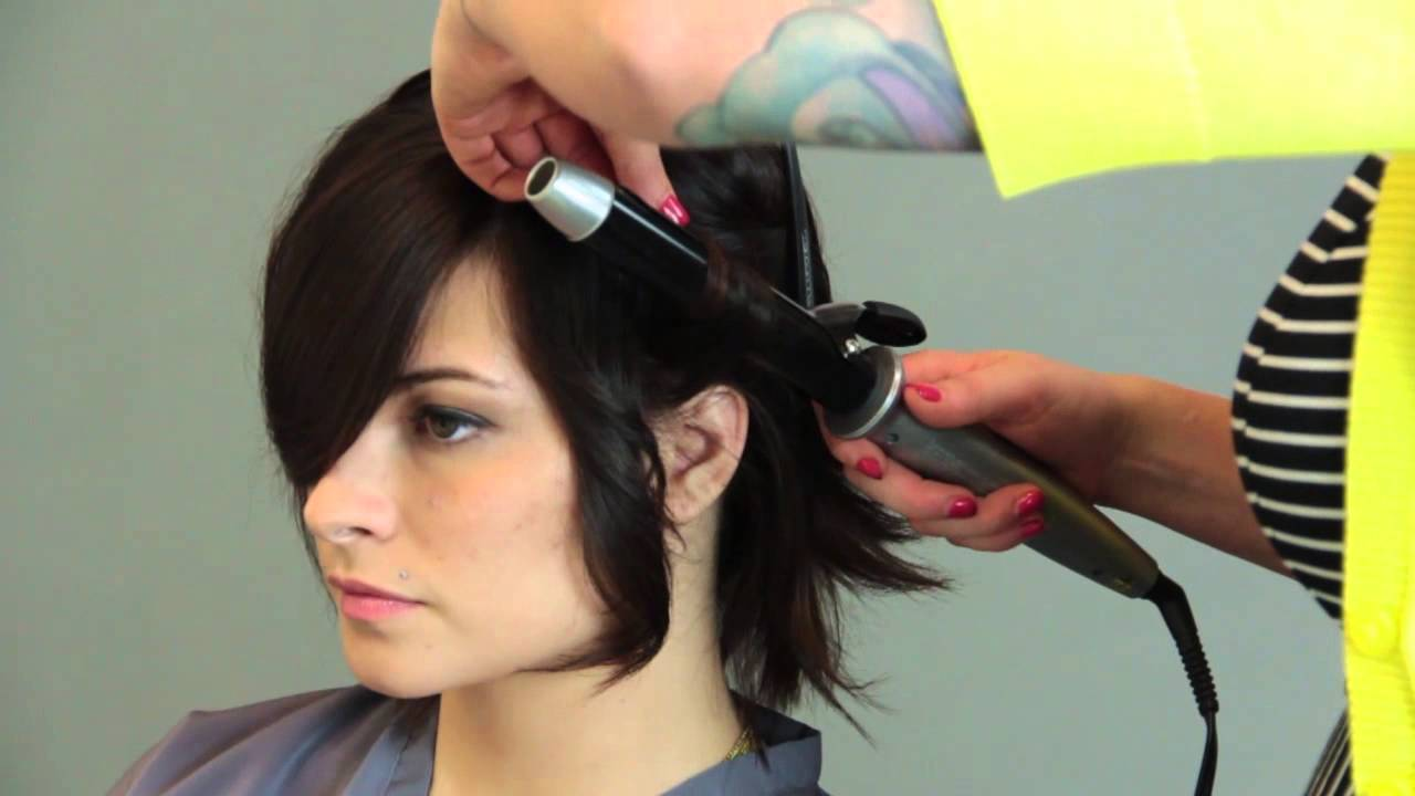 How To Style A Stacked Wedge Haircut Hair Care Color Youtube