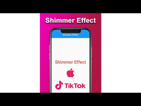 Flutter Preview - Shimmer Effect Animations For Images & Texts In 90 Seconds #Shorts