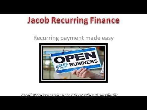 Jacob Start a Business Christ Church Barbados