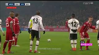 Bayern Munich Vs Besiktas 5-0 All goals and 1 red card