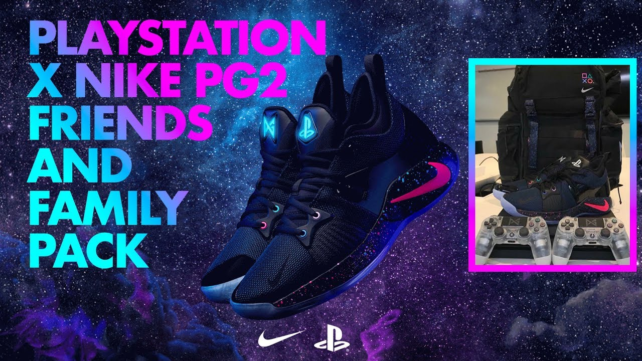 1a68a2271206aa Limited Edition Playstation Nike PG2 Friends and Family Pack - YouTube