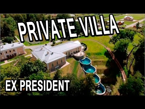 The private villa ex president