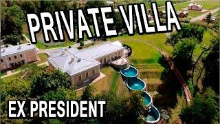 The private villa ex president