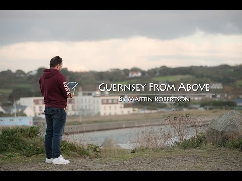 Guernsey From Above - Phantom 4 Drone Cinematic footage in 4K
