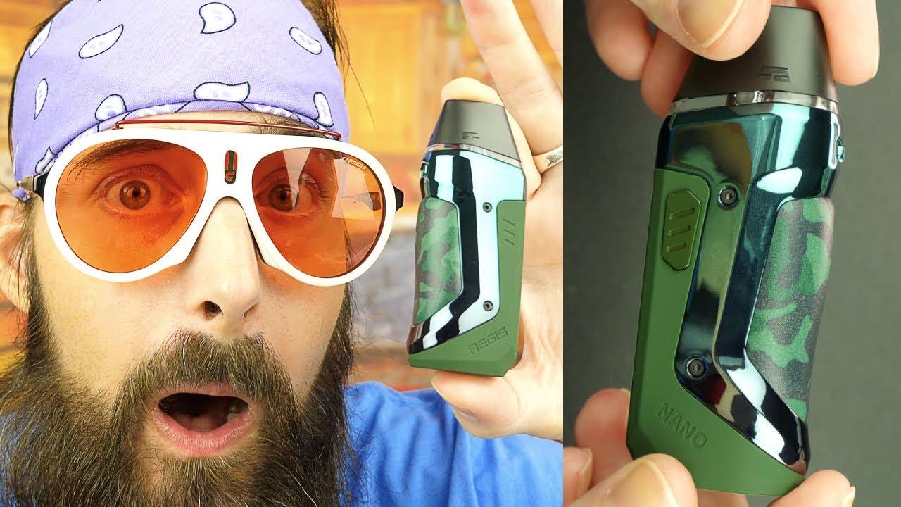 Better Than My Aegis Hero RTE? The Geek Vape Nano AiO Kit!