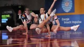 Romanian aerobic gymnastics team