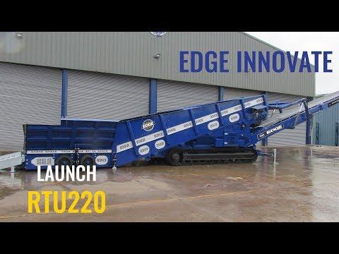 Edge Innovate launch new Radial Truck Unloader (RTU220)