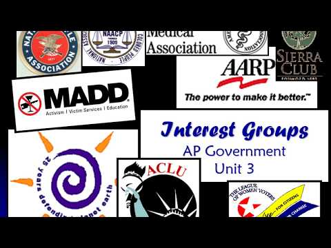 Interest Groups PowerPoint narrated video