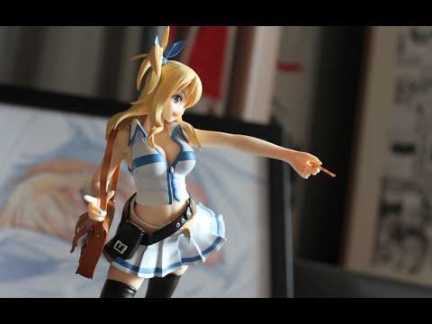 unboxing figurine fairy tail lucy heartifilia good smile company youtube. Black Bedroom Furniture Sets. Home Design Ideas