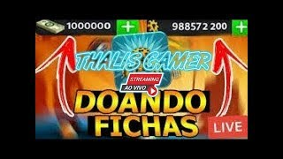 DOANDO 100 MILHOES DE FICHAS SEM MISERIA - FICHAS GRATIS 8 BALL POOL (ID NA DESCRICAO)