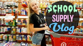 School Supply Shopping Vlog | 2017