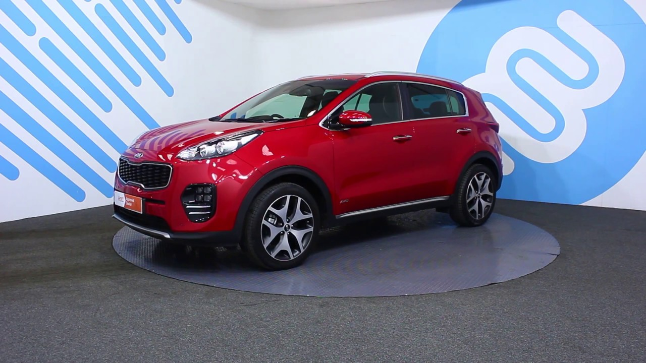 kia sportage 1 6 t gdi gt line awd youtube. Black Bedroom Furniture Sets. Home Design Ideas