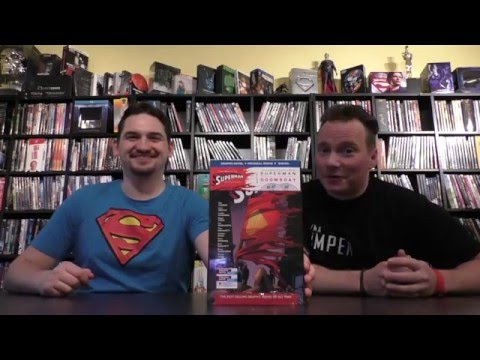 The Death of Superman – Doomsday Unboxing Graphic Novel & Blu-ray