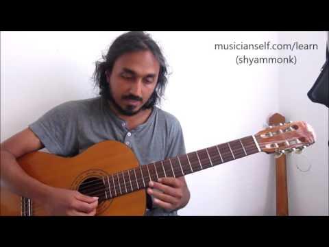 Kandukondein Arrahman Tamil Song Carnatic Slides Swaras Notes Guitar Indian Raga